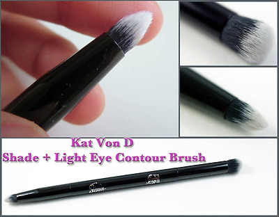 Kat Von D Shade + Light Eye Contour Double Sided Brush - Brand New UK 1st CLASS