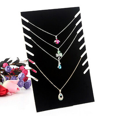 Velvet Jewellery Wall Hanger Holder Stand for Necklace Earrings Bracelet Shelf