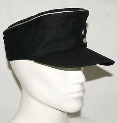 WWII WW2 German Elite Officer Summer Panzer M43 Field Cotton Cap Hat Army Shop M