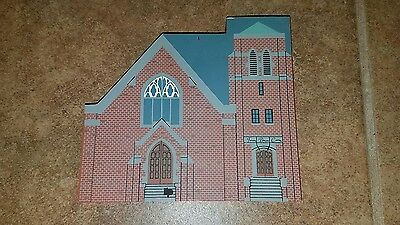 FIRST PRESBYTERIAN CHURCH, Plymouth, MI, Cat's Meow Custom Building, 1993 Faline