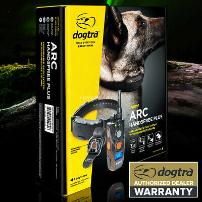 NEW Dogtra ARC HANDSFREE 3/4-Mile Remote Dog Training Controller Waterproof
