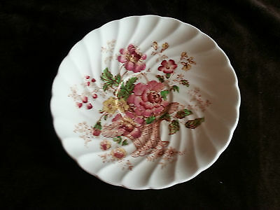 Vintage 1930's Royal Staffordshire Chelsea Rose CLARICE CLIFF saucer