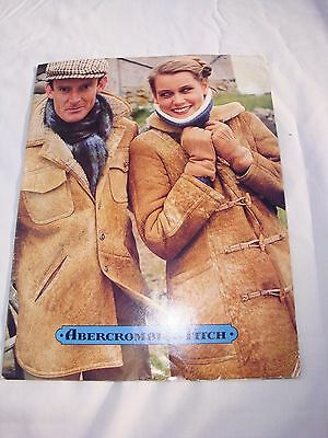 Vintage Abercrombie & Fitch Catalog – Fall late 1970's, early 1980's - Exlnt