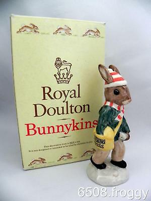 Royal Doulton Bunnykins *Paperboy* DB 77 - with Box - Excellent