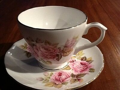 Vintage Collectable Duchess Duo High Tea Shabby Chic Made in England Pink Roses