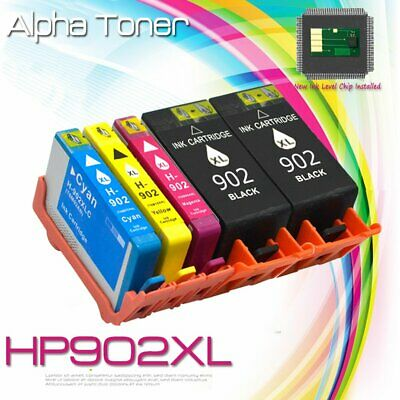 5 Pack 902XL 902 L Ink Cartridges for HP Officejet Pro 6960 6968 6970 6975 6978