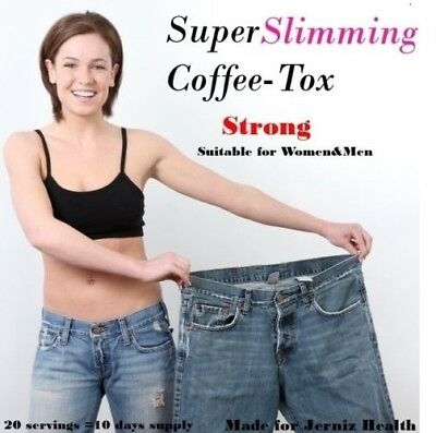 10 Days Strong Instant Slimming Diet Coffee-Tox Fast Weightloss Fat Burner Drink