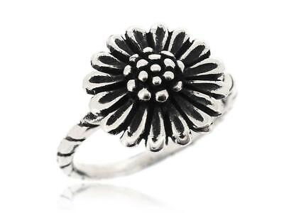 Nice and Lovely Sunflower Ring 925 Sterling Silver Rings For Women Size 5-12 New