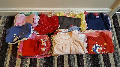 Girls 0-3 Months to 3-4 Years bundle T Shirts and Leggings 54 Items