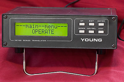 R.M.Young 26700 Meteorological Translator Programmable Display and Input Modules