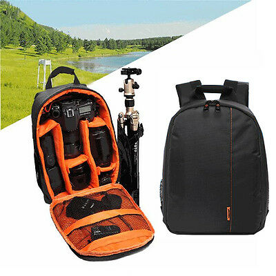 Waterproof Camera Backpack Bag Case Covers Soft Removable Baffle for Nikon Canon