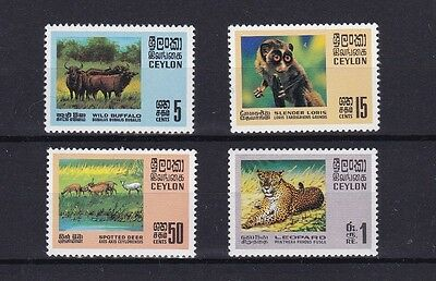 Ceylon 1970 Wild Animals MNH