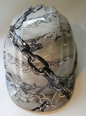 CHAINS Safety Helmet Hard Hat Builders Construction Site Head Protection
