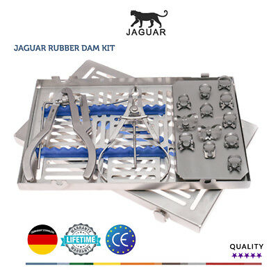 Rubber Dam Kit in Sterilization Cassette Germany Stainless Hu-Friedy price £350