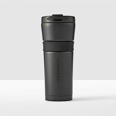 Starbucks  Black Stainless Steel Tumbler 16oz New With Tags $21.95