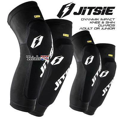 Jitsie Knee / Shin Dynamik Impact Protection Guards-Trials-Cycle-Offroad-Armour