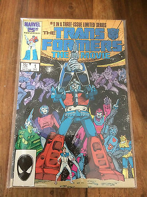Transformers The Movie Issue 1 Marvel Comics 1986