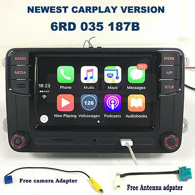 "187B CarPlay RCD330 6.5"" MIB Car Radio For VW Tiguan Golf Jetta Passat Polo"