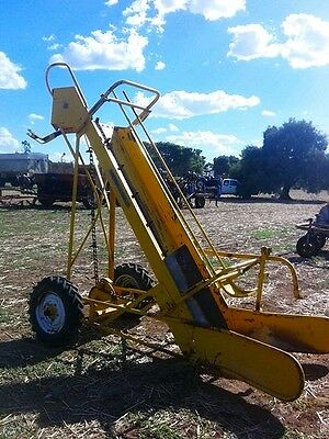 Mobilco small bale hay truck loader