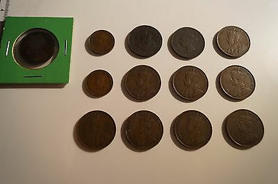 Old Canadian/Newfoundland Coins lot