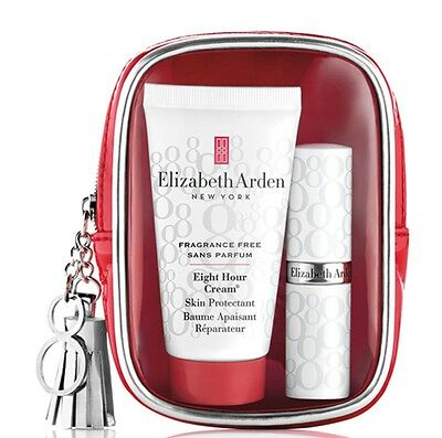 Elizabeth Arden Eight Hour Skin Protectant & Lip Protectant Duo + Travel Pouch