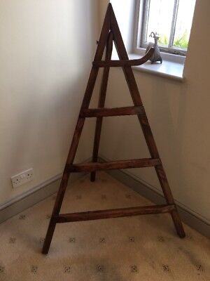 Spanish Antique Wooden Clothes Rack/ Stand / Horse / Tripod