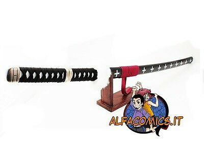 ONE PIECE Spada Metallo Acciaio Cosplay TRAFALGAR LAW 102 cm! steel sword katana