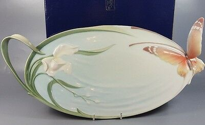 Franz Butterfly Tray Xp1694 With Box Designed By Jen Woo