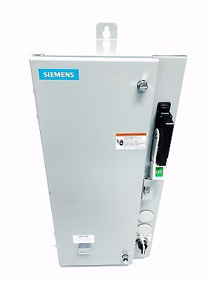 Siemens 17DSB92NF10 Combination Fusible Non-Reversing HD Motor Starter