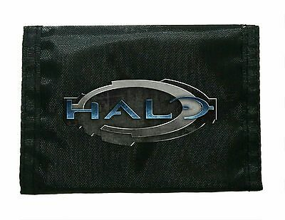 Halo Black Wallet Boy New Great For School Gamers