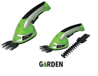 Cordless Grass Shear & Timmer - Garden - 2 in 1 Rechargeable Battery