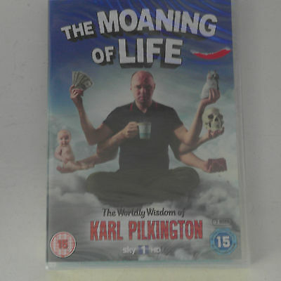 DVD The Moaning Of Life - Series 1 - Complete (, 2-Disc Set) Karl Pilkington NEW