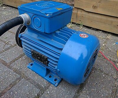 Marelli Motori 2.2kw 3 phase motor, 24mm shaft
