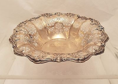Gorham Sterling Silver Pierced Center Bowl