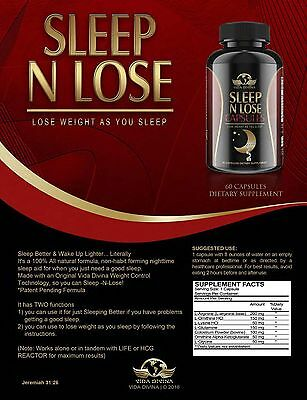Vida Divina Sleep 'n' Lose, 1 Week Supply 14 Capsules