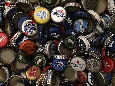 100 Lot Mixed Assortment Beer Bottle Caps Crowns~NO DENTS! Clean!!