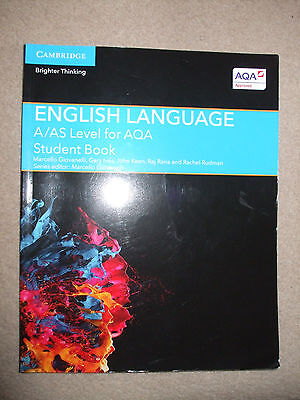 English Language For A/AS Level For AQA Student Book Cambridge