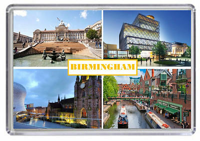 Birmingham Fridge Magnet 01