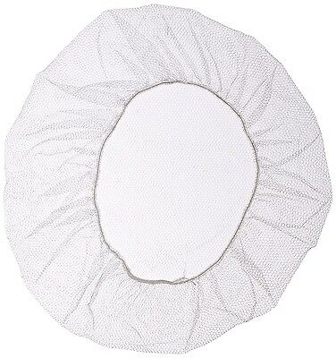 """24"""" White  Restaurant Cooking Or Medical Nylon Hair Net.  Pack Of 10 Pieces."""