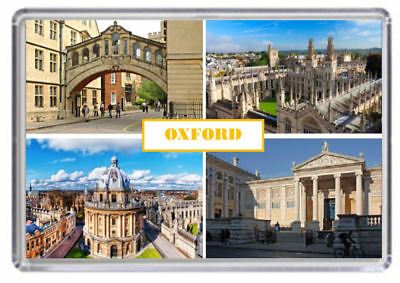Oxford Fridge Magnet 01