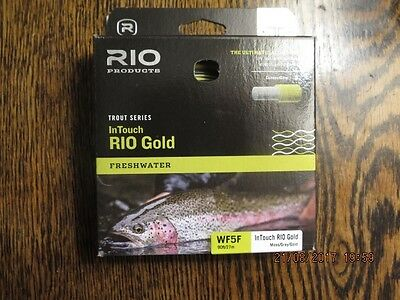 RIO InTouch Gold Fly Line #5