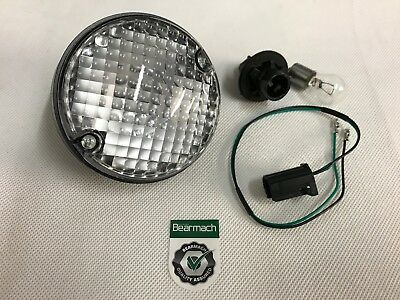 Bearmach Land Rover Defender NAS Upgrade Round Reverse Light Lamp, Bulb & Lead