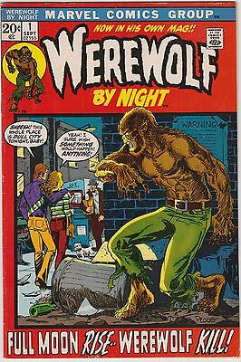 Werewolf by Night # 1, Marvel Comics