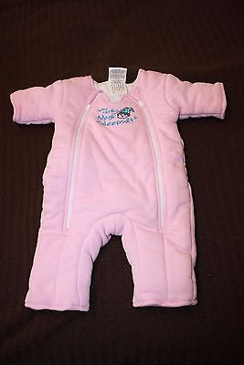 Baby Merlin's Magic Sleepsuit NWOT Cotton Pink Small 3-6 Months 12-18 Lb