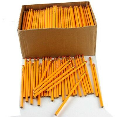Wholesale Bulk Lot of 50 yellow no.2 pencils great for school, home or office