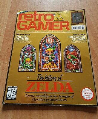 Retro Gamer Magazine Issue 51 History Of Zelda Cover  (Rare)