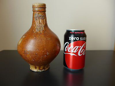 Small Antique 17th Century Salt Glazed Bellarmine Jug **Circa 1650**