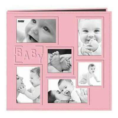 Pioneer  - Sewn Embossed Collage Frame Post Bound Album 12In. X12in.  Baby - ...