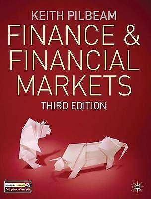 Finance and Financial Markets by Keith Pilbeam (Paperback, 2010) 3rd edition 2/2