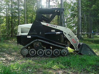 2012 Terex PT30 Track Steer Skid Loader 2 Buckets in Ohio Low Hours Home Use